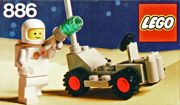 Lego Espace - 886 Space Buggy