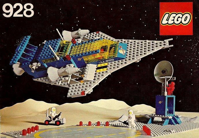 Les jouets de notre enfance. - Page 2 Lego-Espace-1979-928-Space-Cruiser