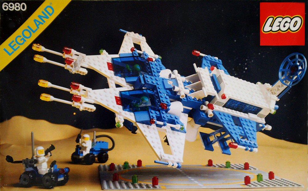 Les jouets de notre enfance. - Page 2 Lego-Espace-6980-Galaxy-Commander