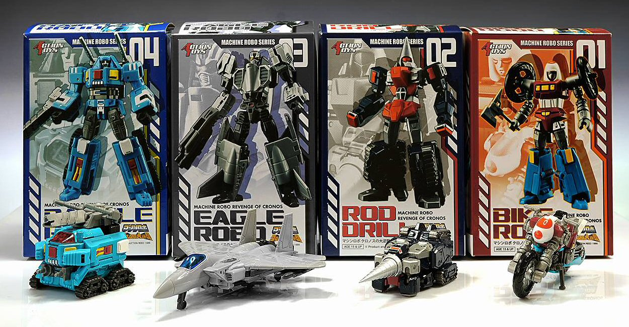 Machine Robo Action Toys