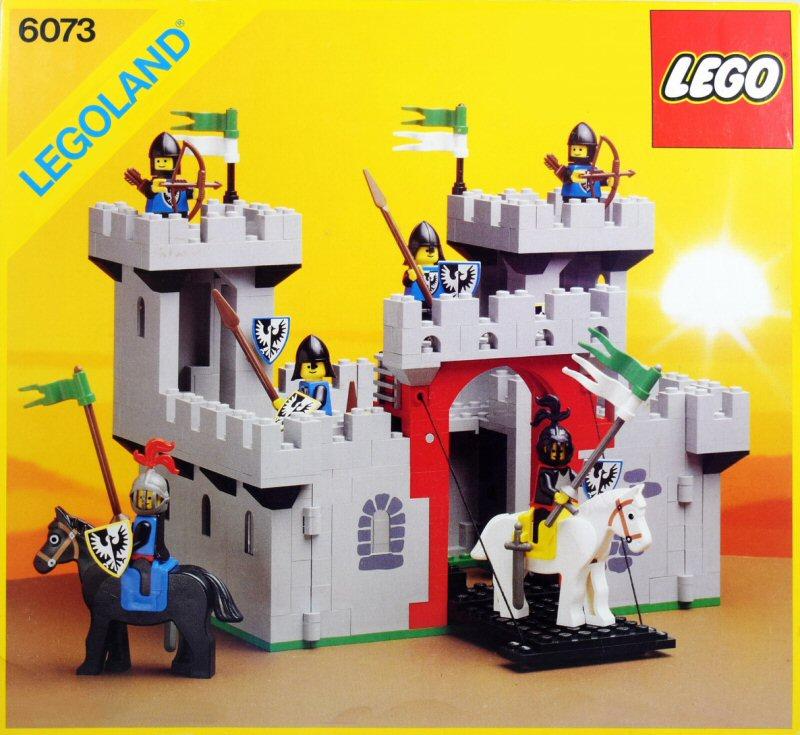 Les jouets de notre enfance. - Page 2 Lego-Castle-1984-6073
