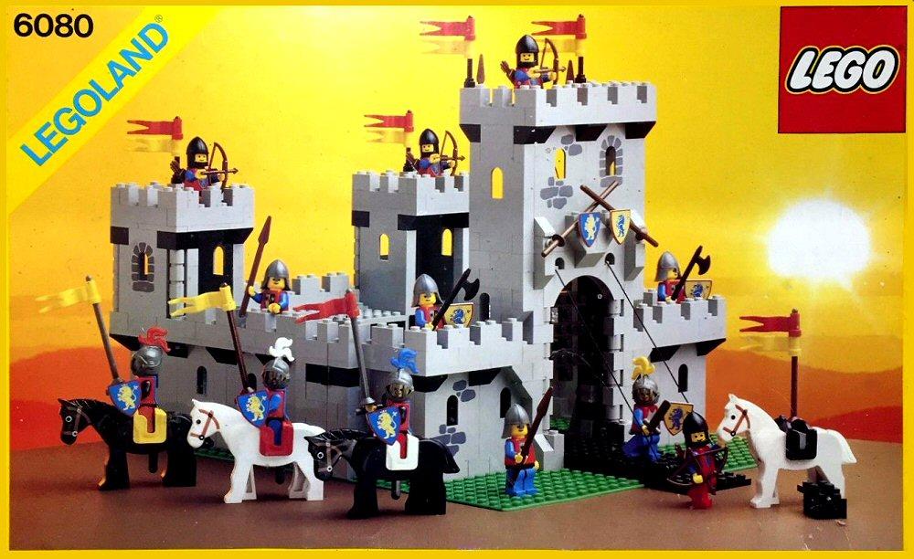Les jouets de notre enfance. - Page 2 Lego-Castle-1984-6080