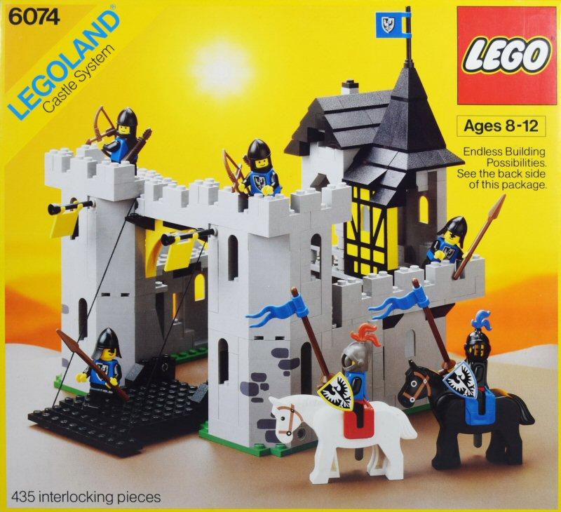 Les jouets de notre enfance. - Page 2 Lego-Castle-1986-6074