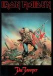 Iron Maiden Carte Postale - The Trooper