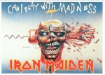 Iron Maiden Carte Postale - Can I Play With Madness