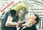 Iron Maiden Carte Postale - Be Quick Or Be Dead