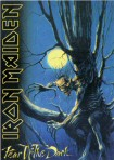 Iron Maiden Carte Postale - Fear of the Dark