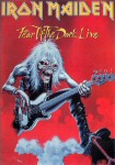 Iron Maiden Carte Postale - Fear of the Dark Live
