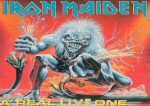 Iron Maiden Carte Postale - A Real Live One