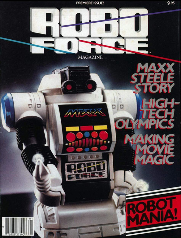 Robo Force magazine n°1