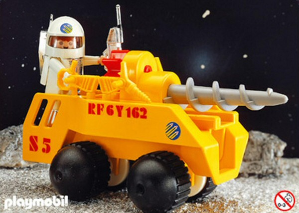 Playmospace 3537 - Yellow Space Drill