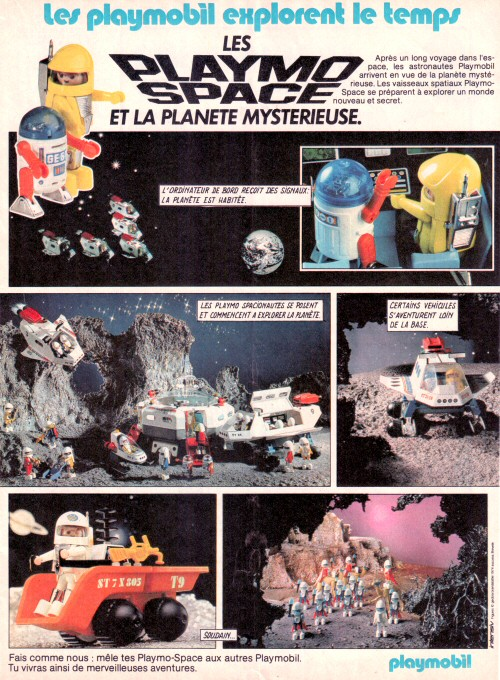 Playmospace - publicité Journal de Mickey 1983 #1
