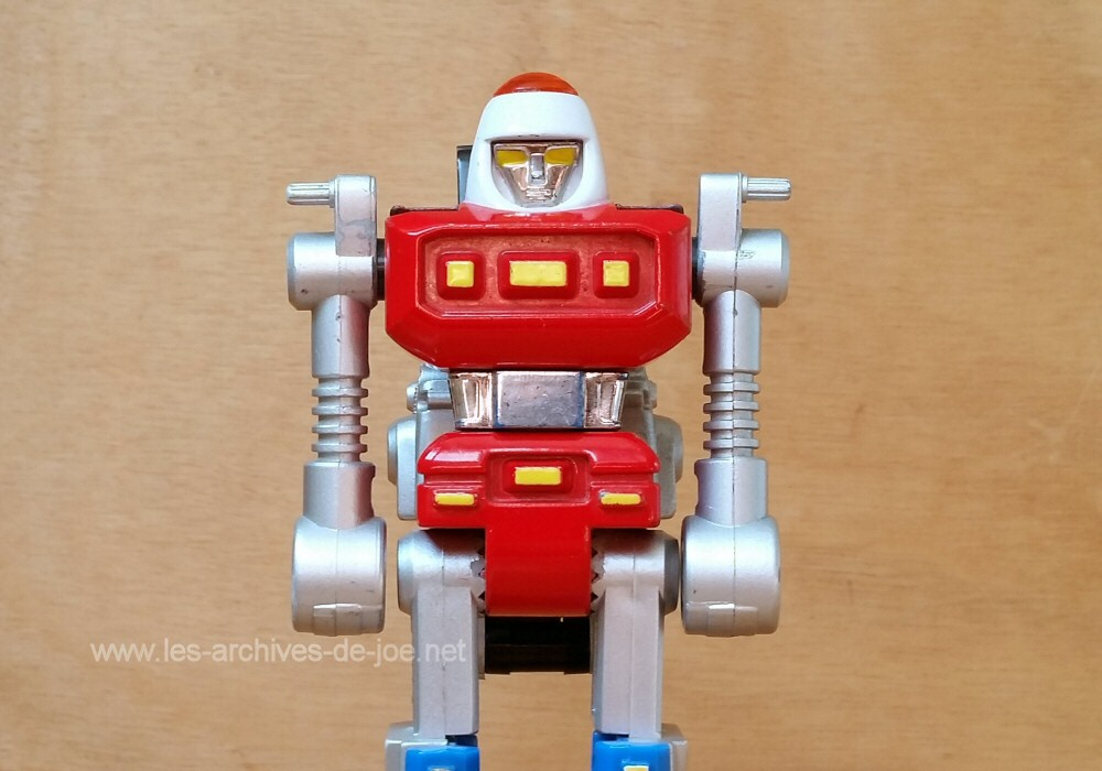 Super Gobots Cy-Kill - mode robot