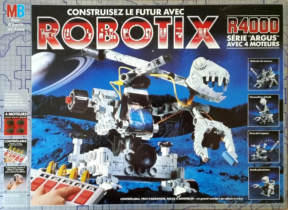 """(jouet) vous rappelez-vous des """"dragonautes""""?? Robotix-4-R4000"""
