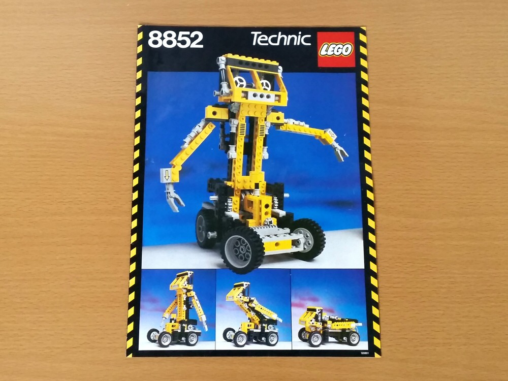 Lego Technic 8852 - notice