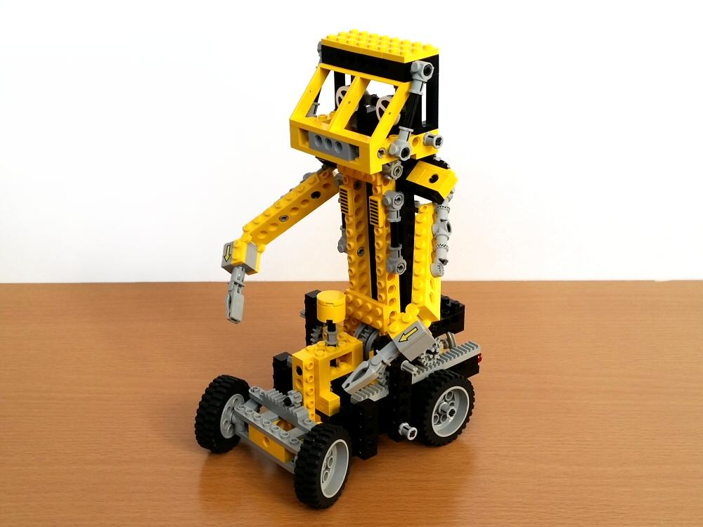 Lego Technic 8852 - mode robot