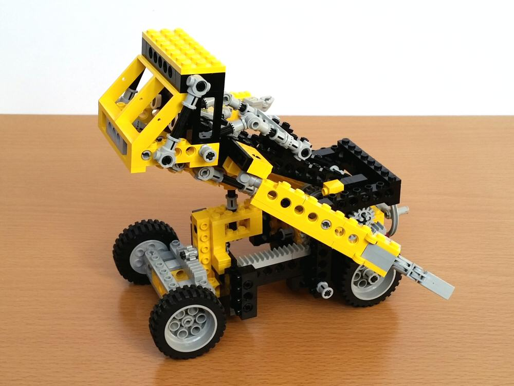 Lego Technic 8852 - transformation