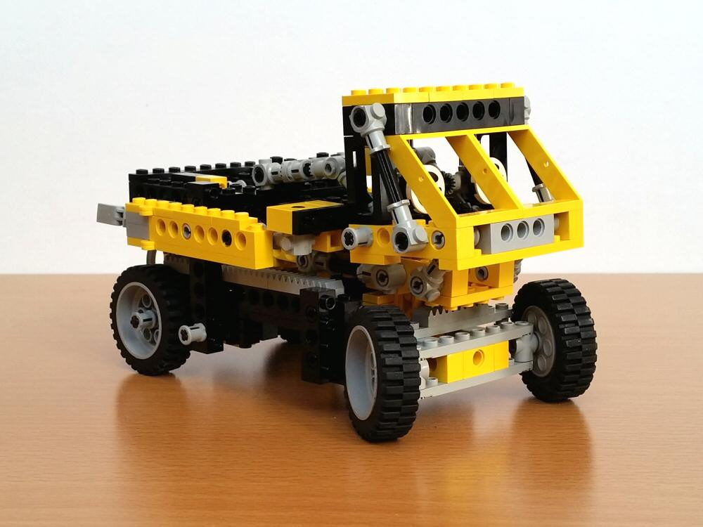Lego Technic 8852 - mode camion