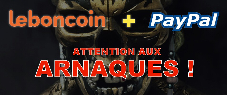 Attention aux arnaques Leboncoin + PayPal !