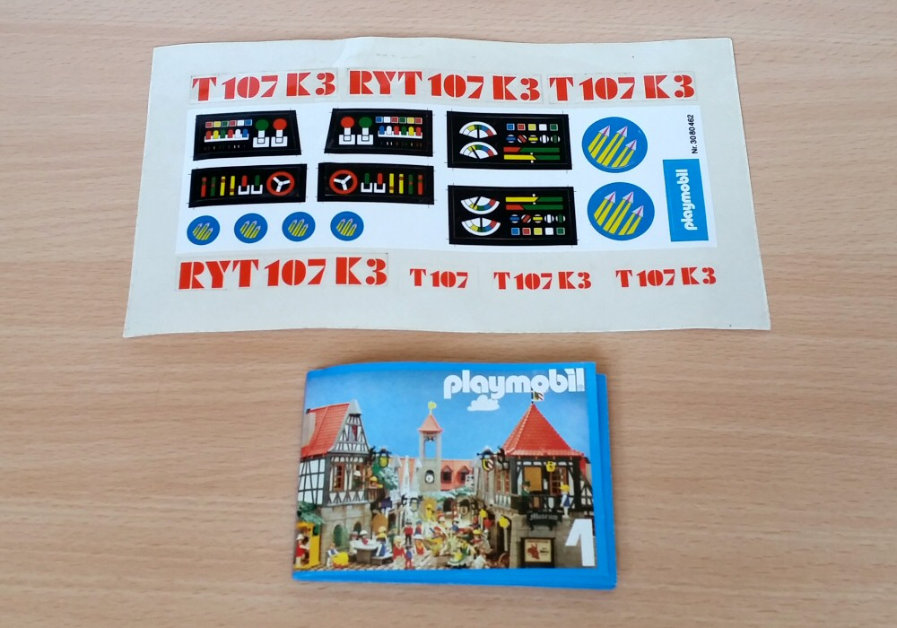 Playmospace 3559 - Les stickers et le mini catalogue
