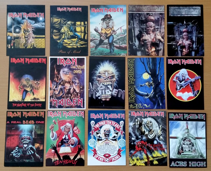 Nouvelles cartes Iron Maiden